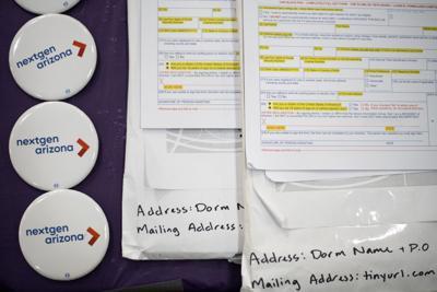 NextGen America conducts voter registration drive