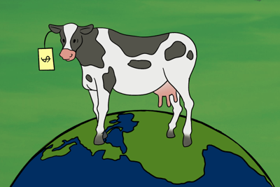 Eating meat is destroying our planet