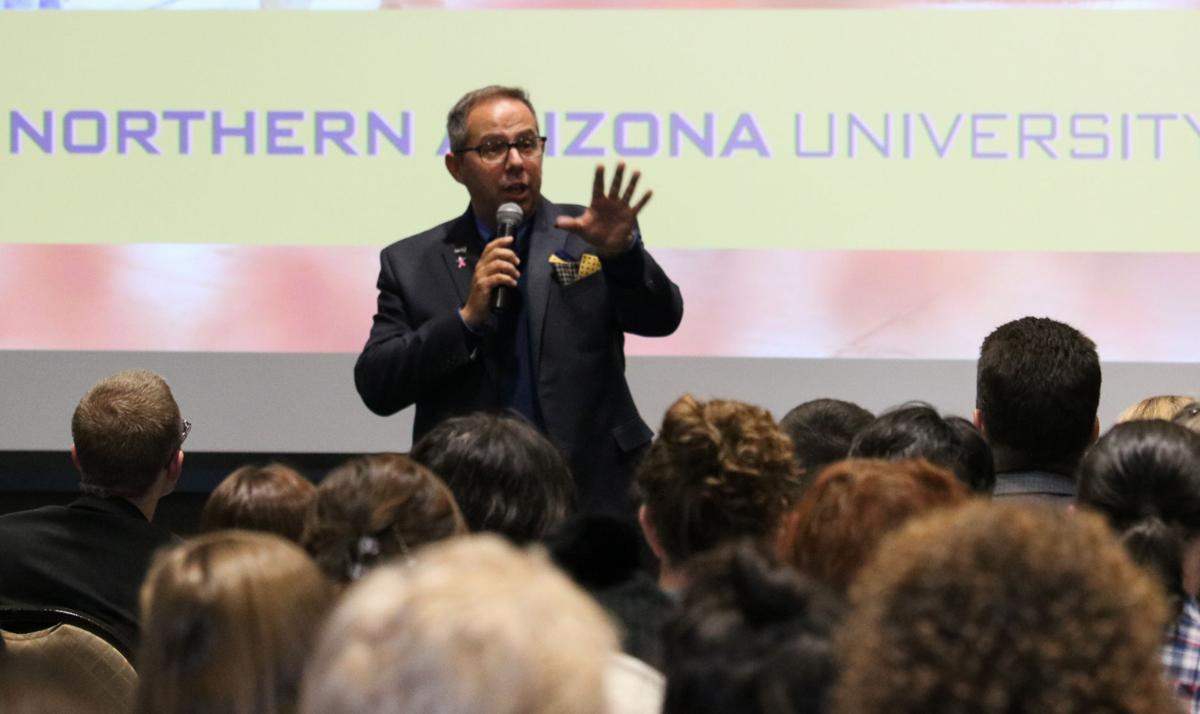 Cheng hosts Fall 2018 Campus Forum