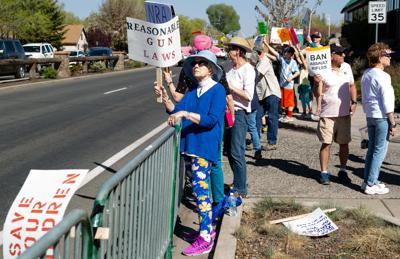 Flagstaff citizens protest Friends of the NRA fundraiser