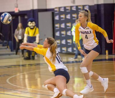 Lumberjack volleyball edges out Weber State 3-1
