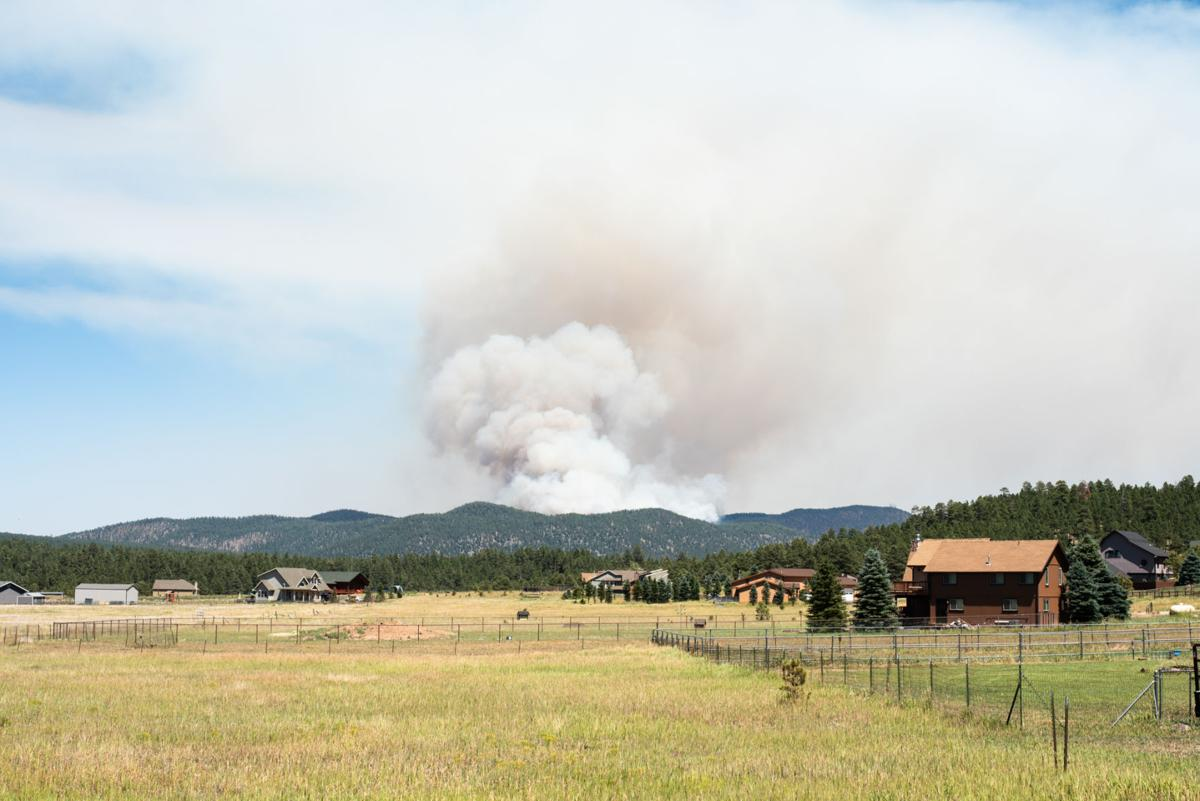 Fires in northern Arizona