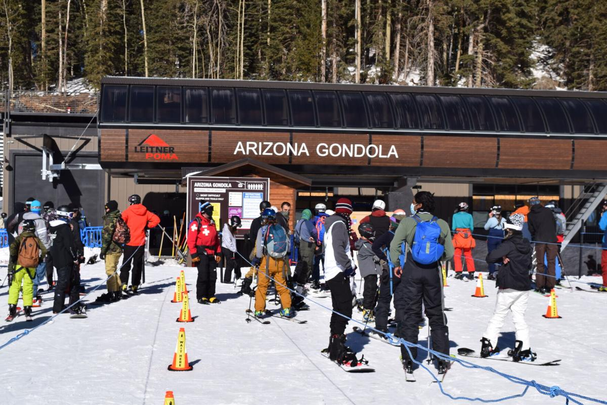 Where snowstorms lead, snowboarders customers follow