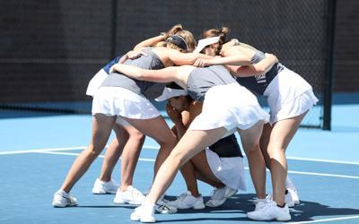 Women's tennis sweeps GCU in regular season finale, 4-0