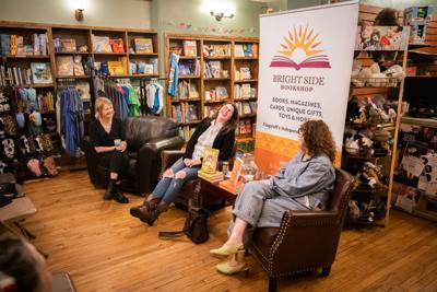 Bright Side Bookshop hosts two best-selling female authors