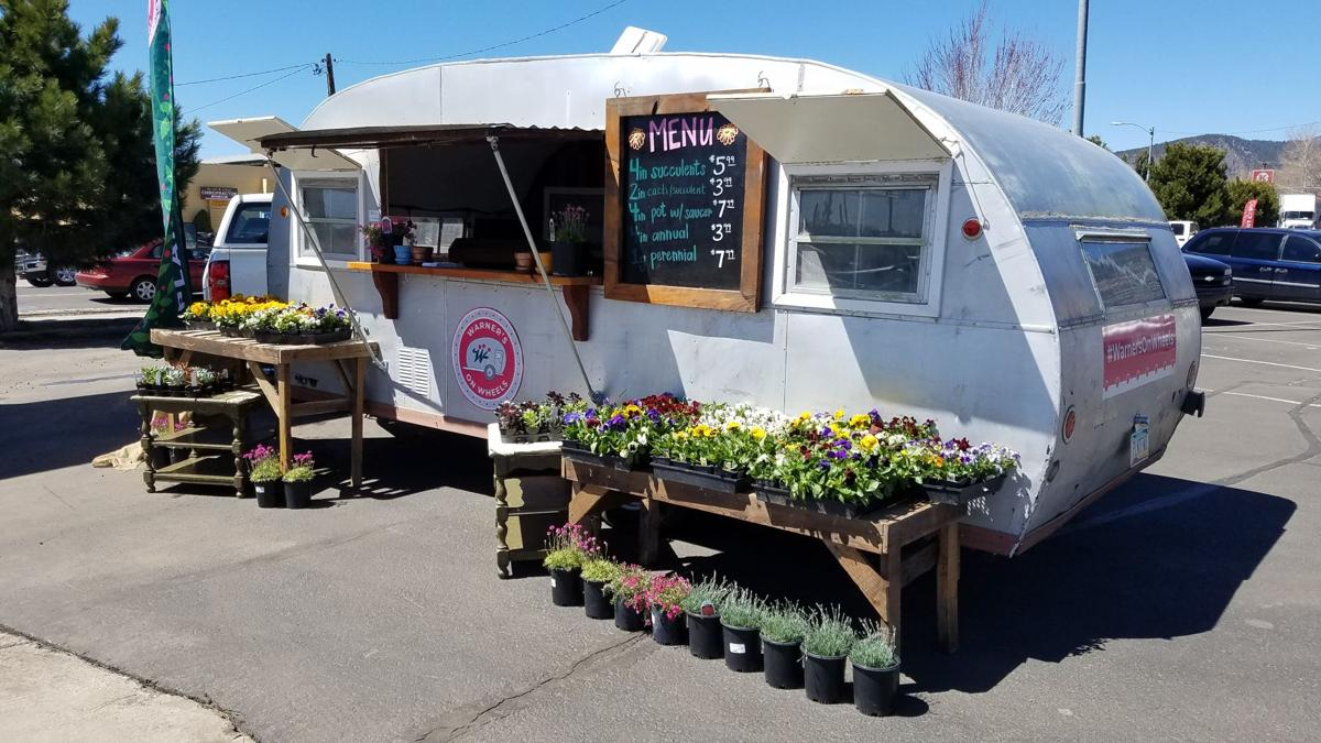 Warner's on Wheels: the local plant mobile