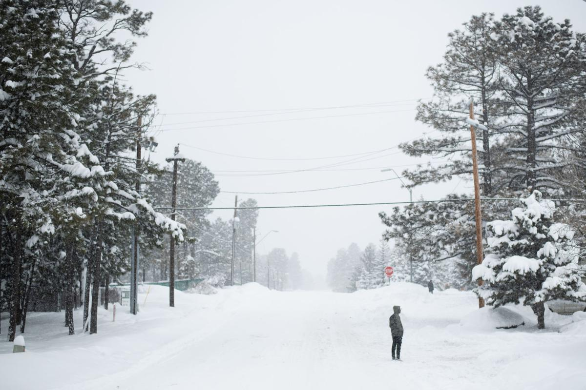 Did climate change summon the snowfall?