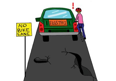 Biking in Flagstaff is an uphill battle