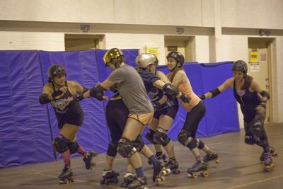 Local roller derby league is HARD to forget