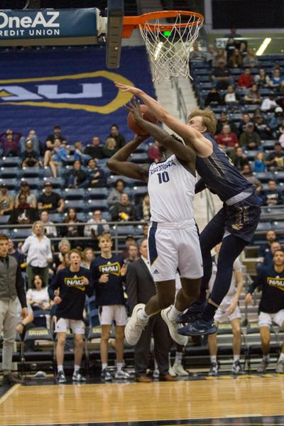 Early game struggles lead to loss on Senior Night for NAU