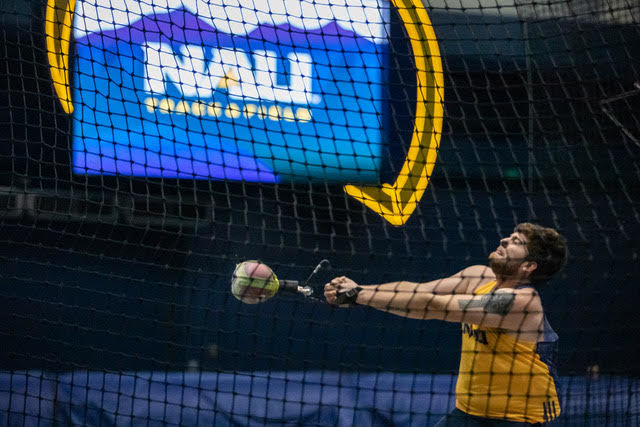 NAU men win Lumberjack Team Challenge as women take 2nd
