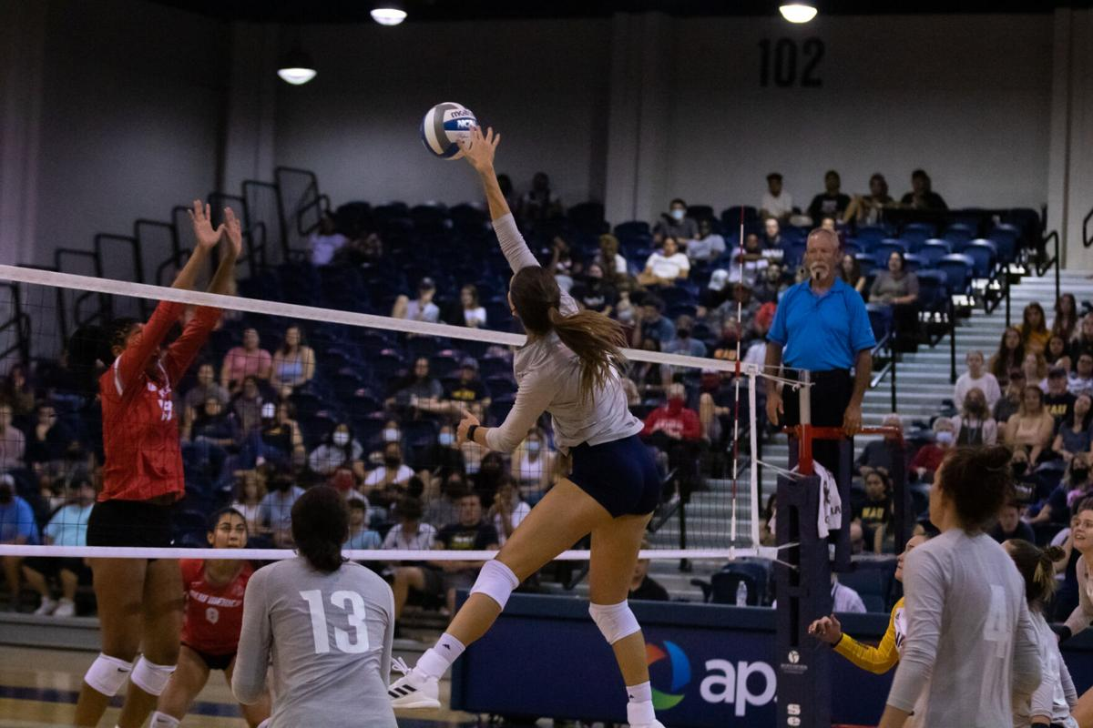 NAU pulls off upset over New Mexico in 3-1 win