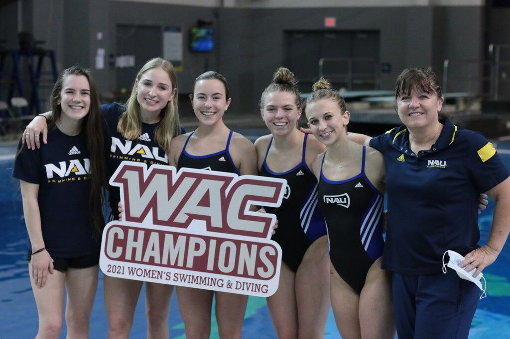 NAU swimming and diving continues to thrive