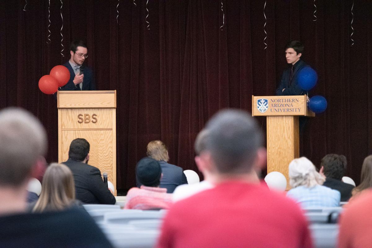 NAU hosts Great Student Debate