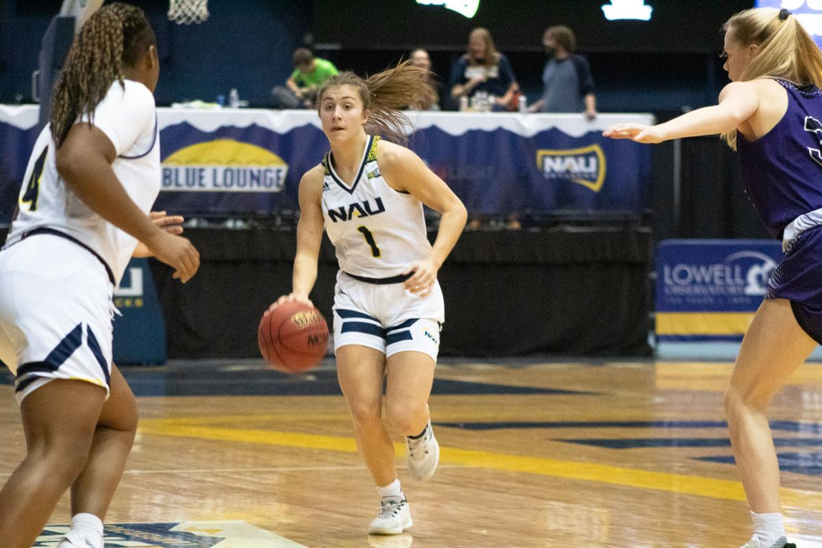 NAU's strong first half led to dominant win over WSU