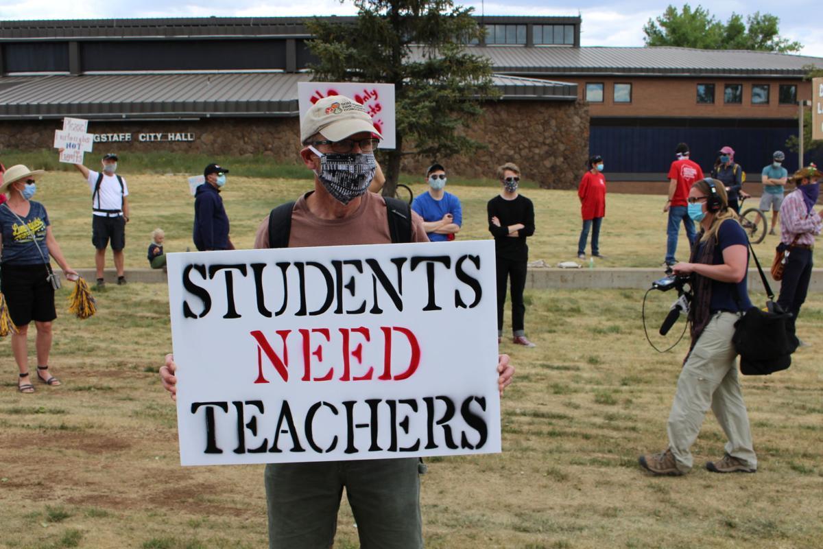 NAU community protests COVID-19 response