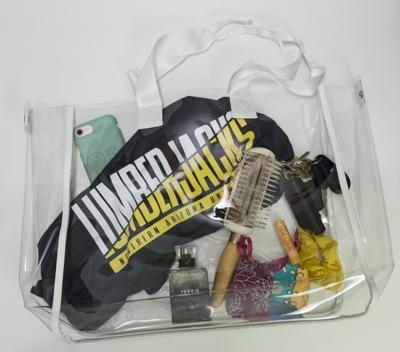 NAU implements clear bag policy for major events