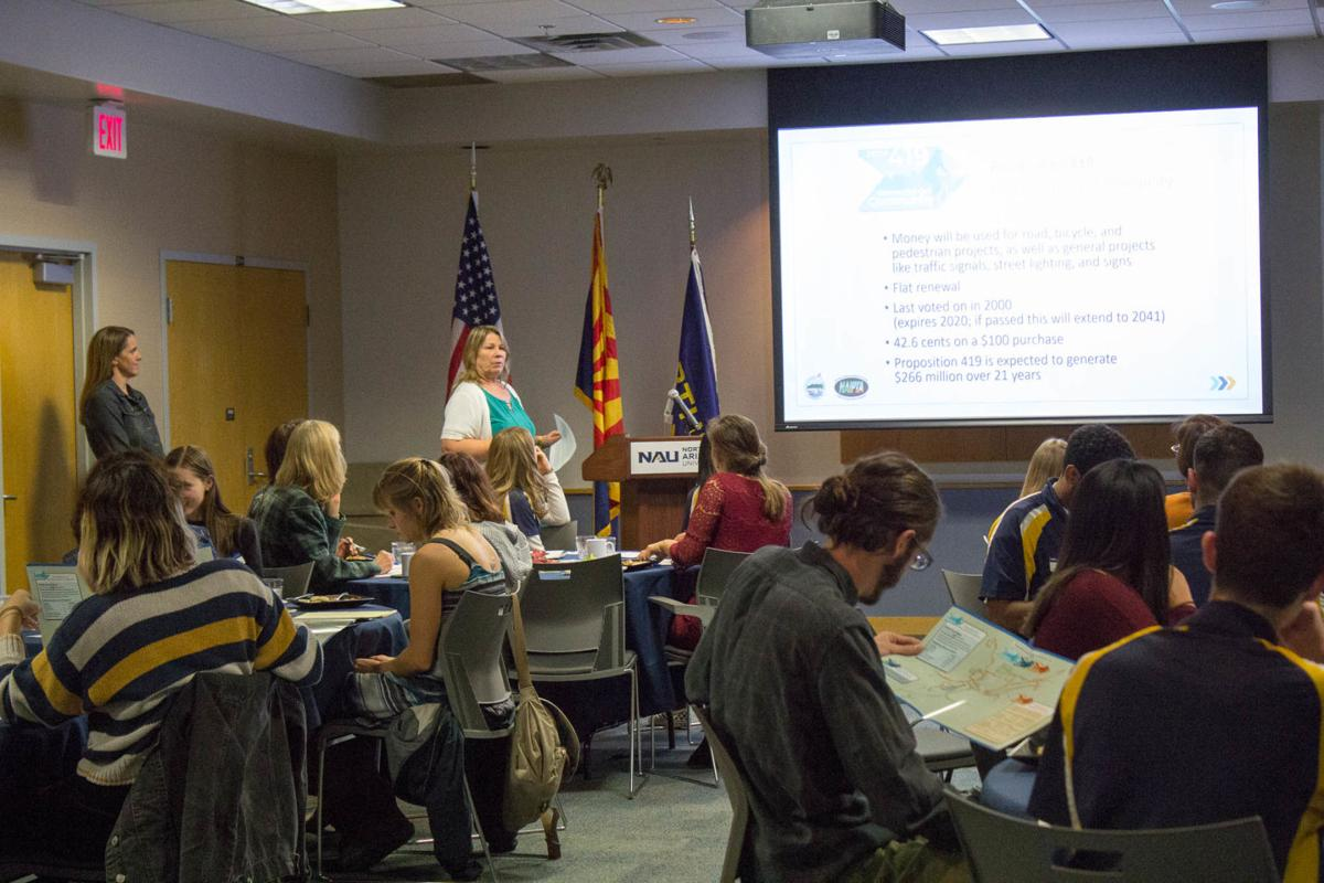 ASNAU and City Council collaborate to get students voting