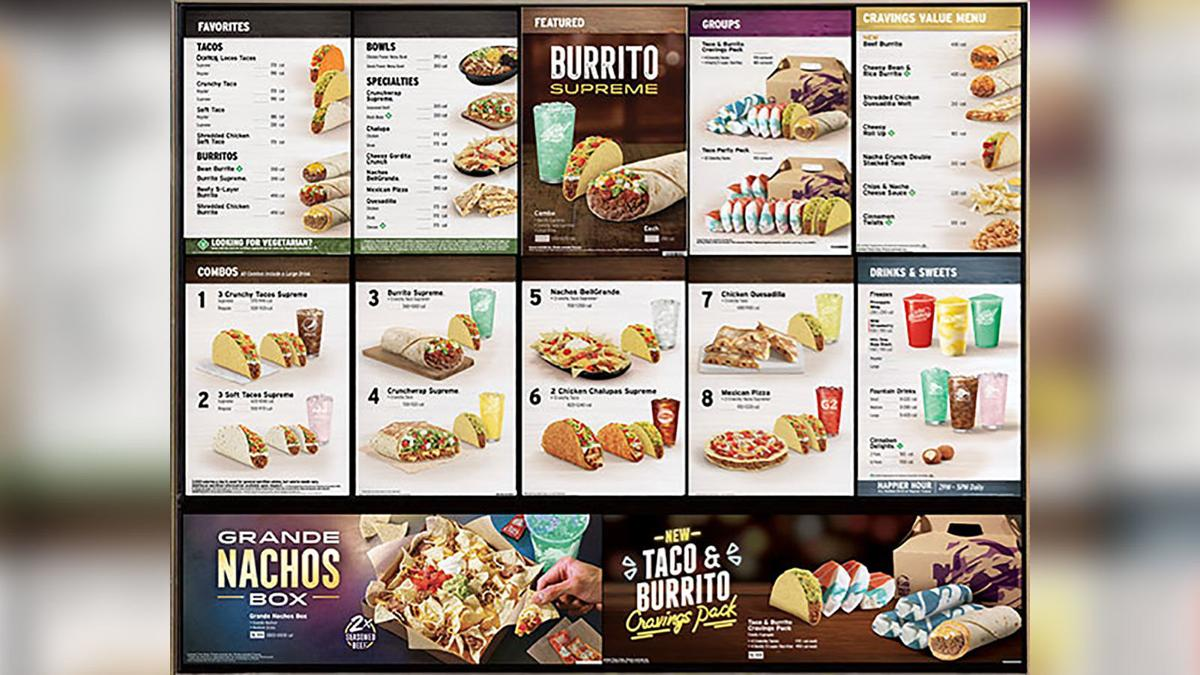 Taco Bell is saying goodbye to its 7-Layer Burrito and other classics to make room for two new menu items