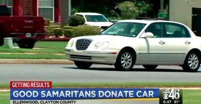Good Samaritans donate car to metro-Atlanta man without transportation to dialysis