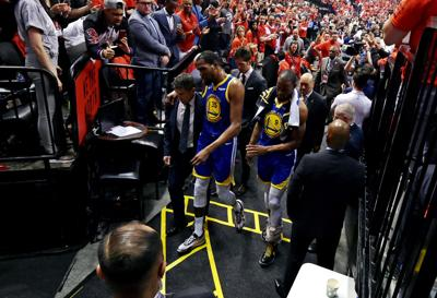 NBA: Finals-Golden State Warriors at Toronto Raptors