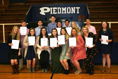 Piedmont National Honor Society welcomes new members