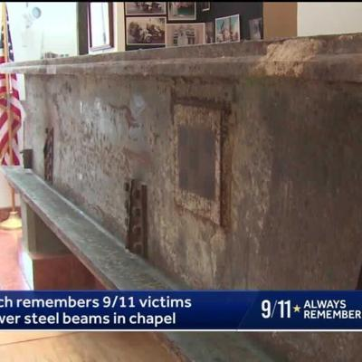 Church remembers and honors 9/11 with steel beams in chapel
