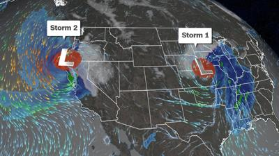 Brutal weather has shut down hundreds of miles of interstates just in time for Thanksgiving travel