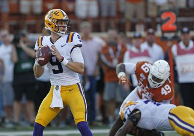 NCAA Football: Louisiana State at Texas