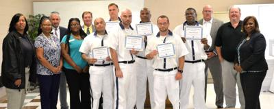 Inmates get welding certification through Southern Crescent Tech