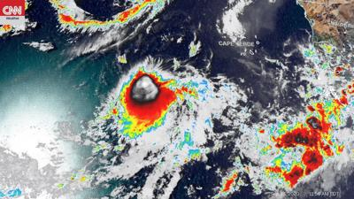 Tropical Storm Wilfred has formed in the eastern Atlantic, completing 2020's list of Atlantic hurricane names