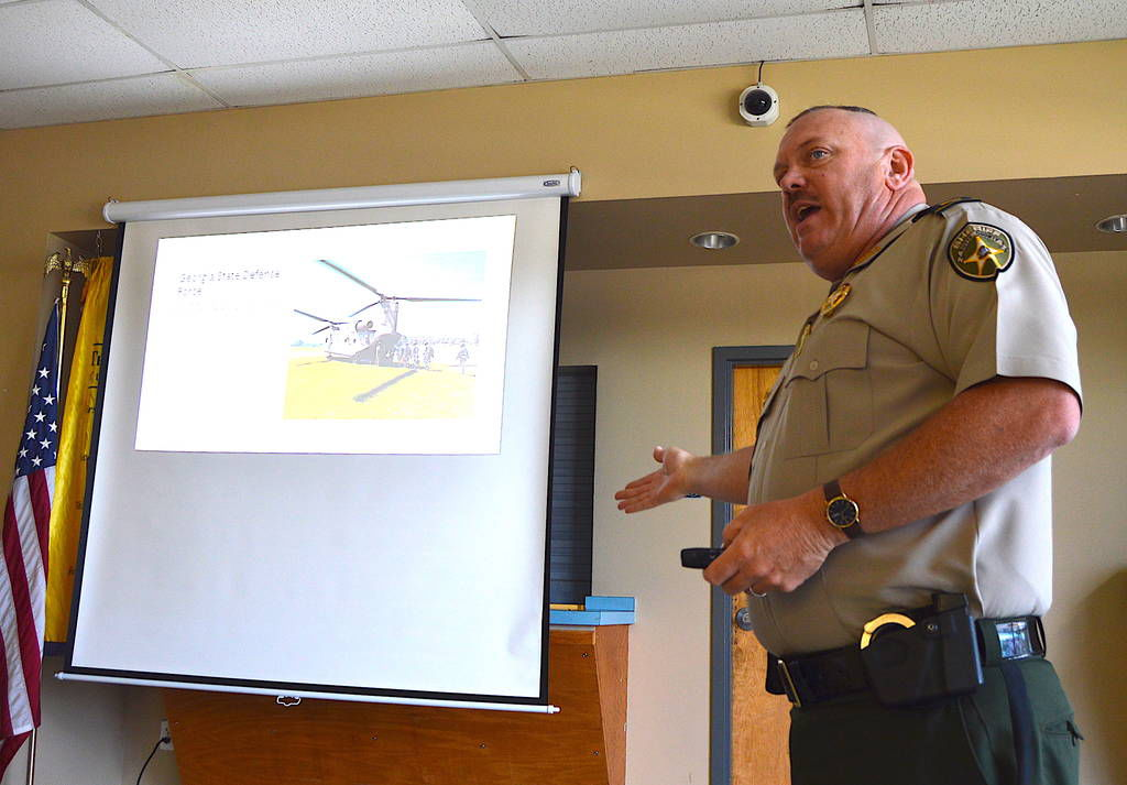 At the Ready: Local officer trains with Georgia Defense Force
