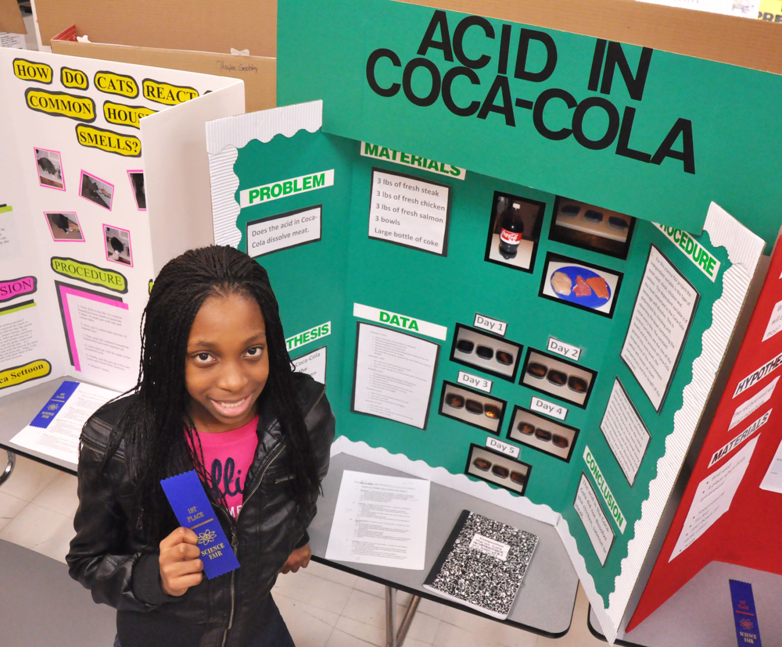 Science Fair: Twenty-two blue ribbons awarded | News ...