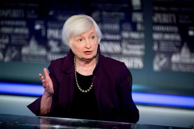 Janet Yellen is confirmed as the first female Treasury secretary in US history