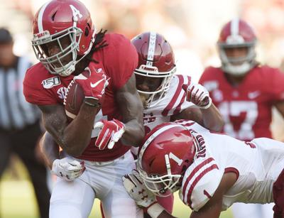 NCAA Football: New Mexico State at Alabama