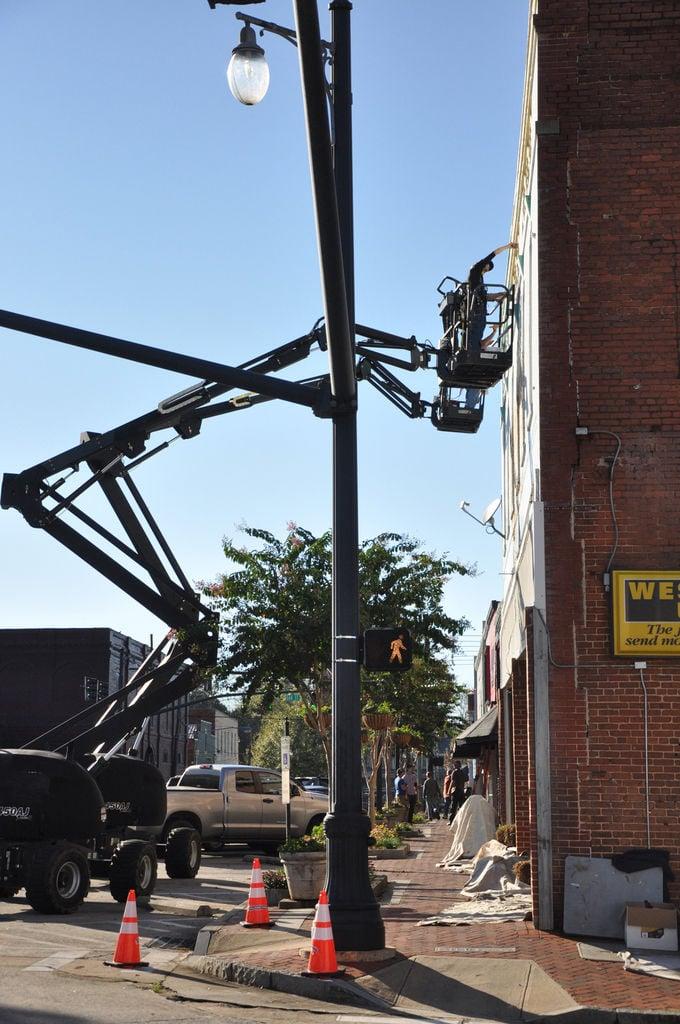 'Stranger Things' shoots on Jackson square