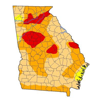 October drought map georgia.jpg