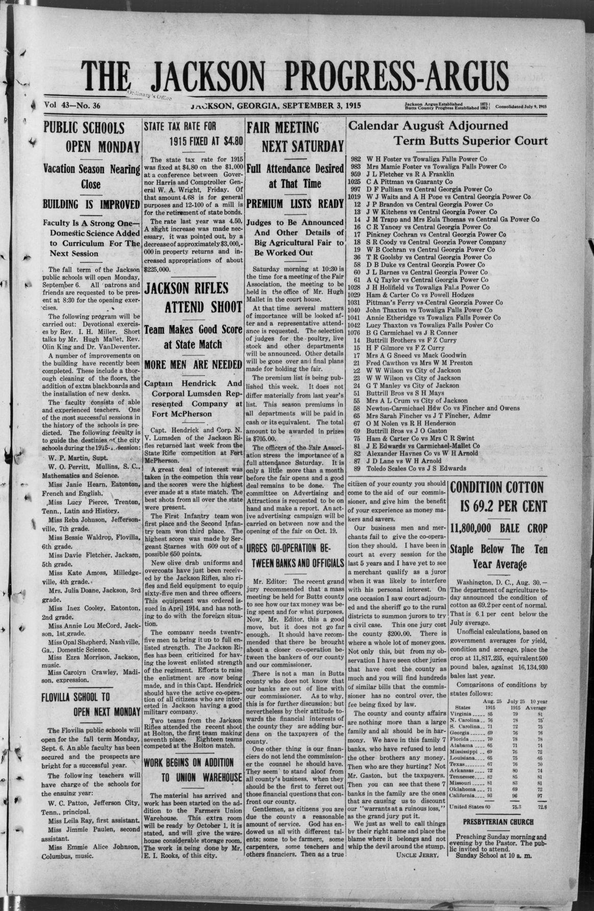 September 3, 1915