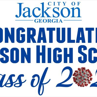 City of Jackson honors JHS seniors with banner