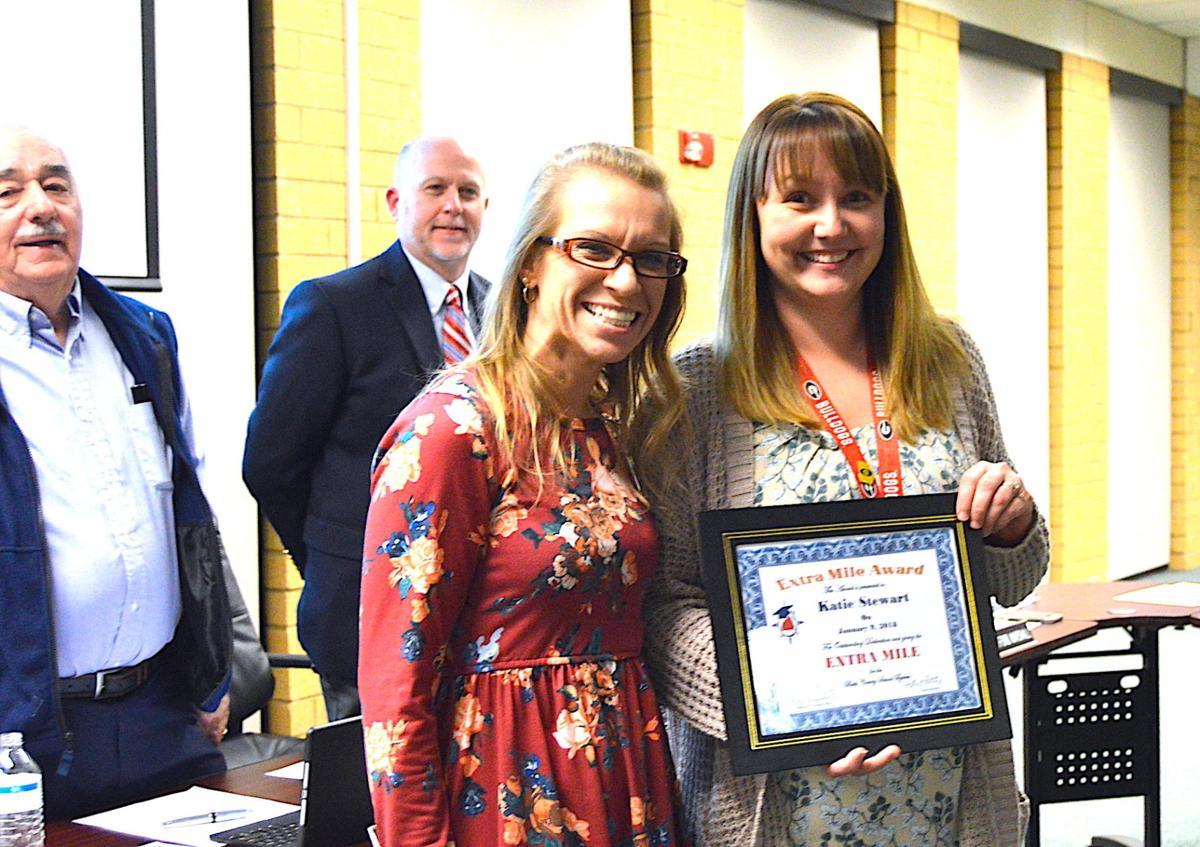 Math teacher receives Extra Mile Award | Local News ...