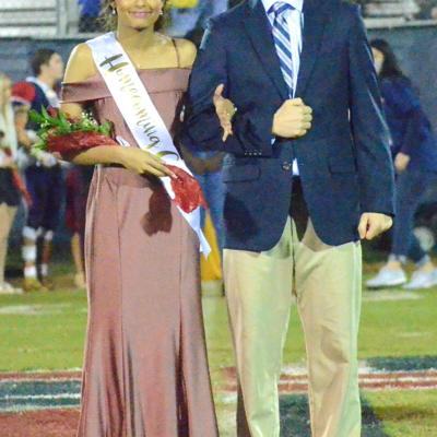 Krupa Patel escorted by Coach Michael Smith.jpg