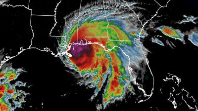 Hurricane Sally slams into Alabama and Florida, and its crawling pace threatens catastrophic flooding