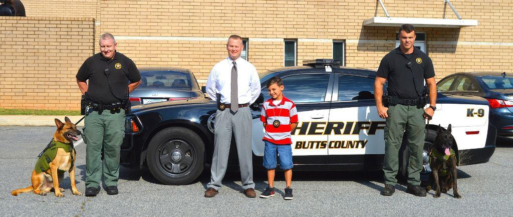 Butts County student raises money for K-9 vests | Local ...