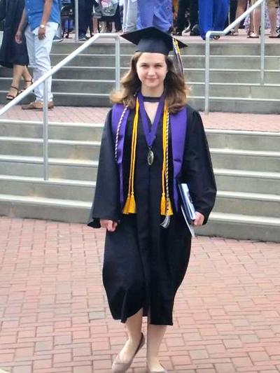 Maddox graduates from Middle Georgia State University