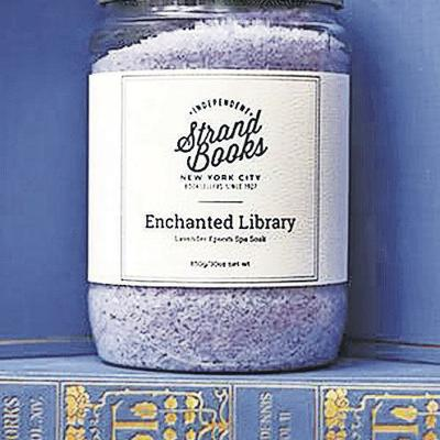 Bath salts: Enchanted Library