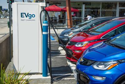 GM is tripling the size of its EV fast charging network