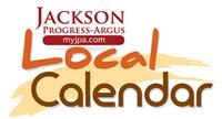 Jackson Progress-Argus local calendar