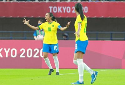 Brasil golea a China