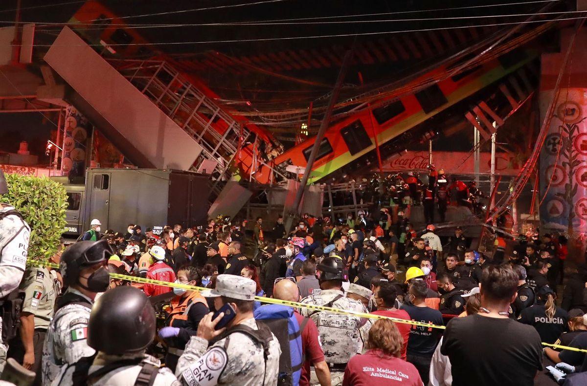 El metro de ciudad de México.