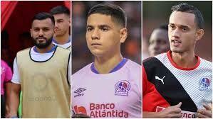 Jorge Alvarez, Carlos Pineda y Diego Reyes